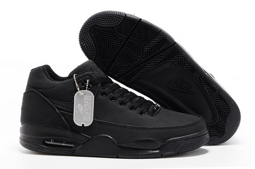 Men's Air Flight Squad Shoes All Black